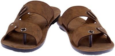 AMERICAN FITS Men Camel Sandals