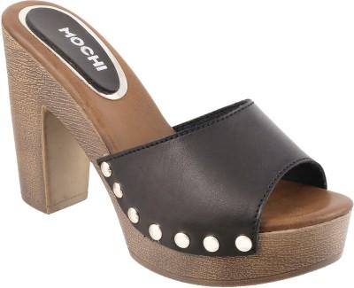 Mochi Women 11,Black Heels at flipkart