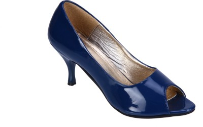 Fashion Mafia Women Blue Heels