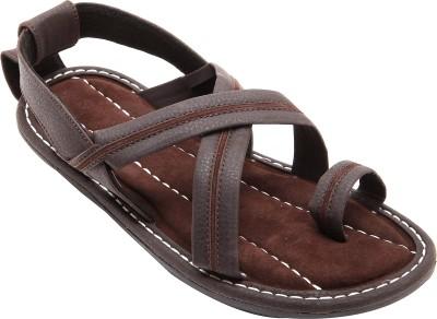 Belleza Men Grey, Brown Sandals