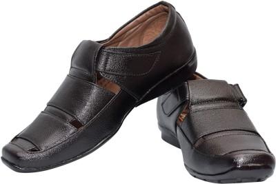 Skoene Men, Boys Black Sandals