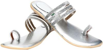 Vaishnovi Women Silver Flats