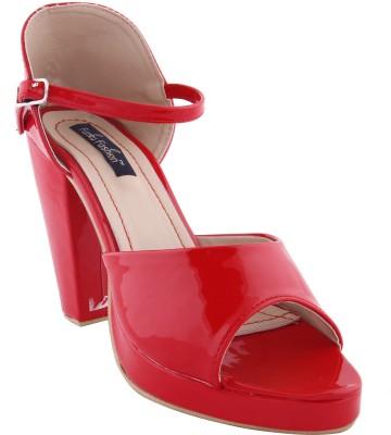 Funku Fashion Women Red, Red Heels