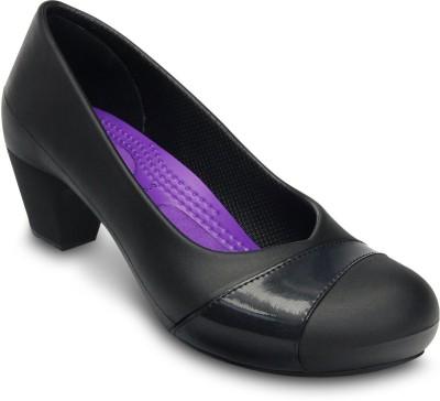 Crocs Women Black Heels