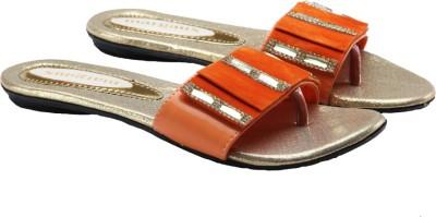 Margaux Women Orange Flats