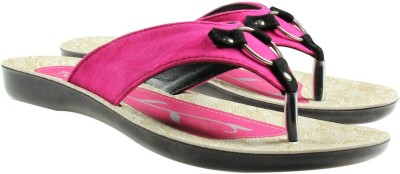Toyto Women Pink Flats