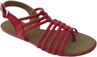 LORIS Women Red Flats