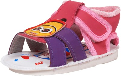 Ole Baby Baby Boys Pink Sandals