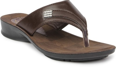 Gouri Women Brown Flats