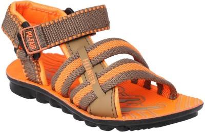 11e Boys Orange Sandals