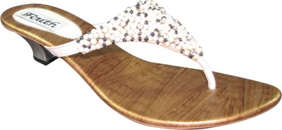 Faith 1000131 Women White Heels