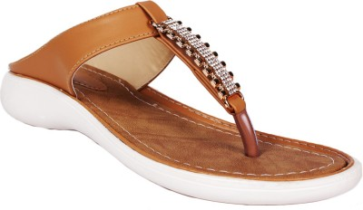 SCANTIA Girls Brown Flats