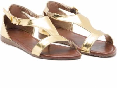 ALETA Women Gold Flats