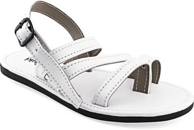 Paduki Men White Sandals
