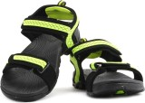 Fila Men Blk, Neo Grn Sports Sandals