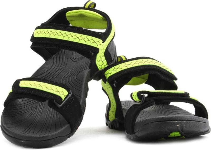 Fila Liberty Men Black Green Sports Sandals