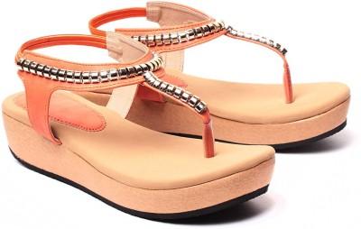 Ruby Women Orange Flats