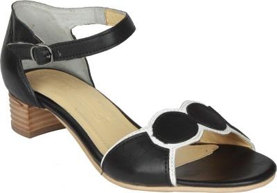 Salt N Pepper 14-155 Dolly Black Women Black Heels