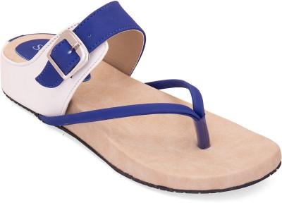 Solester Women Blue Flats