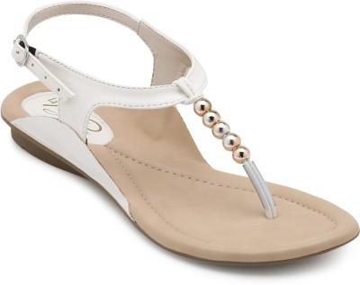 La Briza Women White Flats
