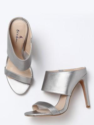 Mast & Harbour Women Silver Heels
