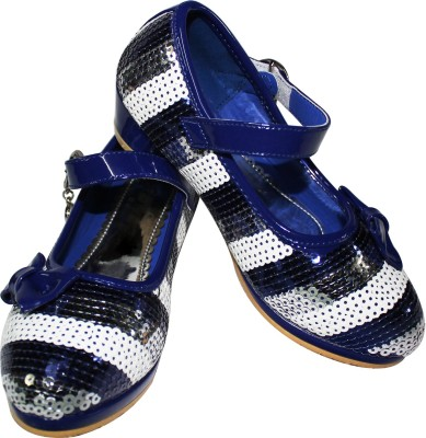 Primes Girls Purple, Silver, White Sandals