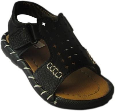 Cutie & Brat Boys Black Sandals