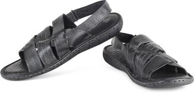 Hush Puppies Sedan-M Men Black Sandals