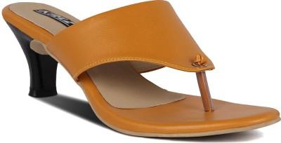 Kielz Women Yellow Heels