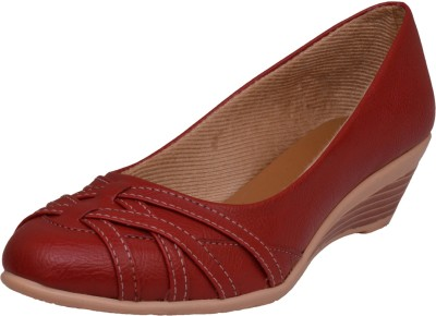Royal She Women Red Wedges
