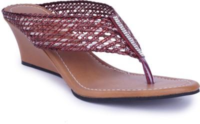 Starchi Women Brown Wedges