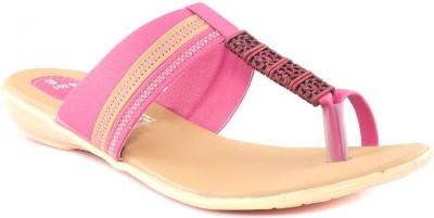 Dolphin Miles Women Pink Flats
