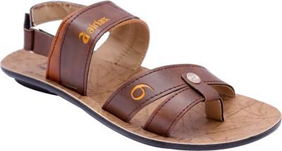 Airfax Men Brown Sandals