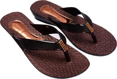 Prashil Women Brown Flats