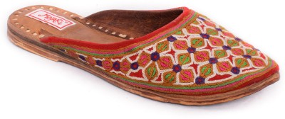 Mojari Women Multicolor Flats