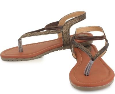 Sapatos Women Brown Flats