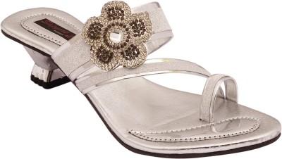 Sapyork Women Silver Heels
