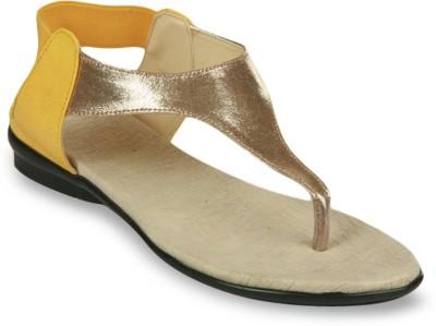 Studio 9 Trend Setters Women Yellow Flats
