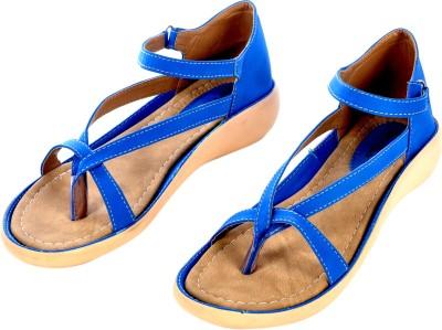 Sir Michele Women Blue, Beige Flats