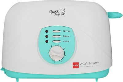 Cello Kitchenlette Collection Toast(White, Sky Blue)