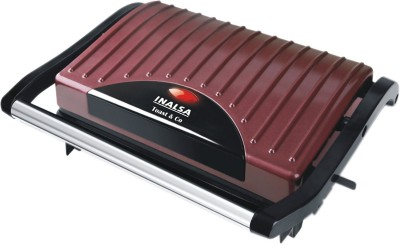Inalsa Toast & Co Sandwich Press Toaster Mini Grill(Brown)