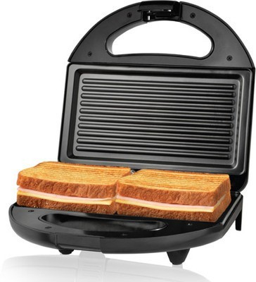 Philips Panini Maker Grill, Toast(Black)