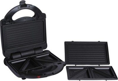 BUTTERFILES AG-SW108 2in1 Toaster Grill, Toast(Black)