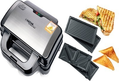 Nova 2 In 1 Changeable NSM 2416 Panni Grill