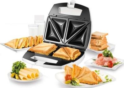 Nova NSM 2412 2 Slice Sandwich Maker Toast(White)