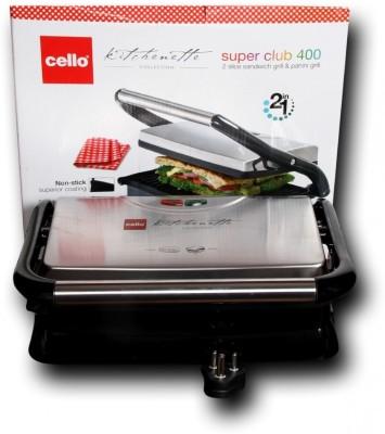 Cello Super Club 400 Grill(Silver)