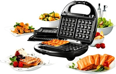 Nova 3 In 1 Snack Magic Nsm 2403 Grill, Toast
