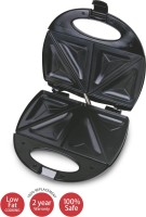 Lifelong Sandwich (112 Large Triangle Plate) Grill, Toast(Black)