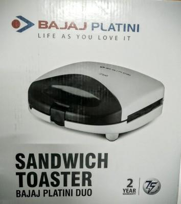 Bajaj Platini DUO SANDWICH TOASTER Grill, Toast