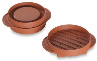 Nordic Ware 365 Indoor/Outdoor Stuffed Burger Maker And Patty Press Grill(Brown)